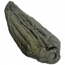 Very Warm Thick Old School Military US Army SUBZERO Extreme Cold Weather ECW Down OD Green SLEEPING BAG by US Goverment GI USGI