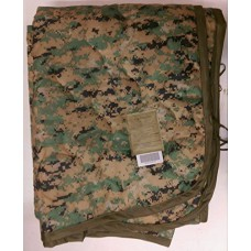 "US GI Military USMC MARPAT PONCHO LINER Woobie Blanket . 82"" x 62"". Made in USA."